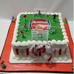 Arsenal Buttercream