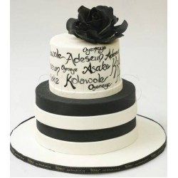 Beautiful Label Cake