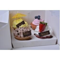 Box of 4 Cupcakes