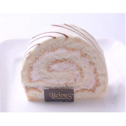White Swiss Roulade (box of 12)