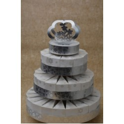 3 Tiered Sliced Cake Stand